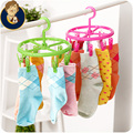 Hot Bold Circular Drying Racks Socks Slip Windproof Plastic Multi Clothe Shorse Dry Clothes Support Skirt Lined Shoes Hanger