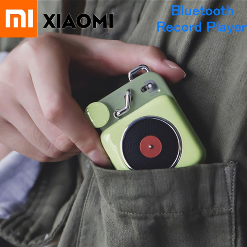 Eerzuchtig Xiaomi Mijia Cat Koning Atomic Platenspeler B612 Bluetooth Intelligente Audio Draagbare Zink Aluminium Mini Shell Speaker Muziek