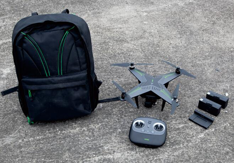 UAV Carrying Bag PVC +Nylon Material Waterproof Strengthening Outdoor Storage General Backpack for XIRO Zero Drone Accessories