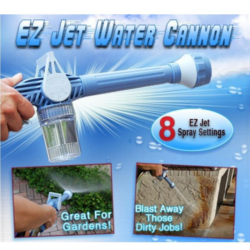 8 In 1 Multifunctional Home Garden Car Cleaning Spray Gun Sprayer Plastic Easy To Use Ez Jet Water Cannon Turbo Sprayer Tools