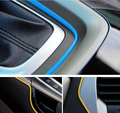 HUANLISUN 5metres Car Styling DIY Universal Cold Line Flexible Interior Decoration Moulding Trim Strips Accessories 5 Colors