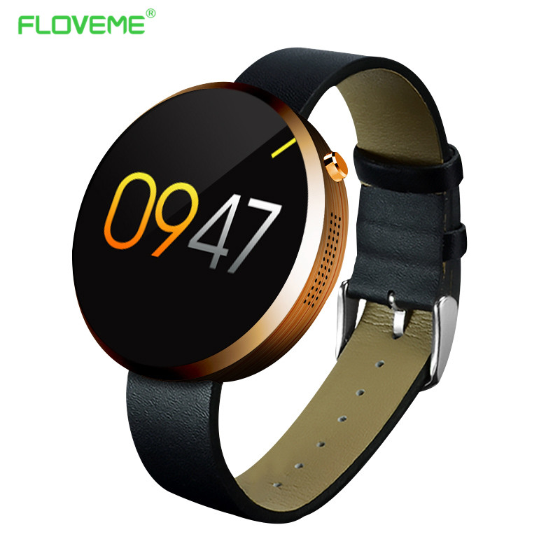 FLOVEME Bluetooth Smart Watch Android IOS Smartphone Wearable Devices Smartwatches Heart Rate Monitor Pedometer Sport font