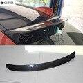 E87 задний спойлер из углеродного волокна крыша крылья верхние крылья для BMW E87 120i 125i 128i 1 серия седан комплект 04-11