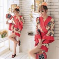 Japanese Fashion Short Faux Silk Robe Wedding Bride Bridesmaid Robe Floral Bathrobe Short Kimono Robe Night Bath Robe for Women