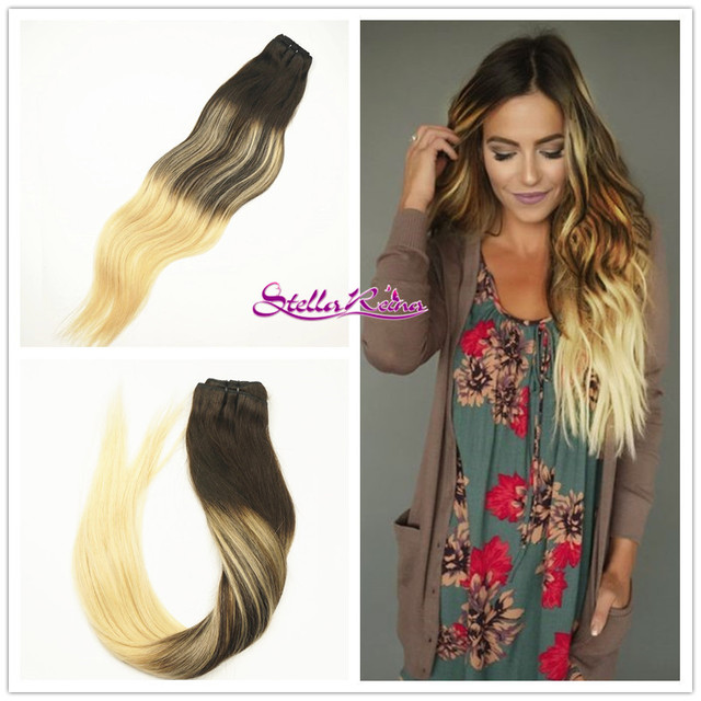 Stella Reina Balayage Ombre Tape In Hair Extensions 222 Dark Brown