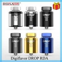 Original Digiflavor Drop RDA BF squonk 510 pin 24mm electronic cigarette tank large post holes Stepped airflow design VS zeus x