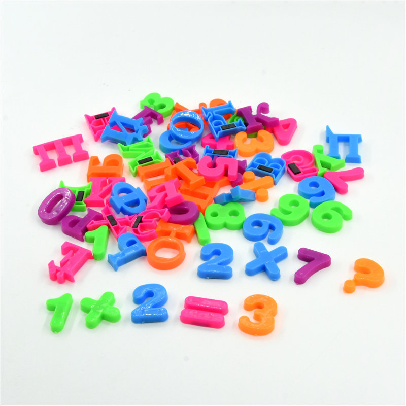 Hot Russian Alphabet & Number Fridge Magnets Multi-function Plastic Toys Child Letter Education Toy Baby Learning Tools Gifts
