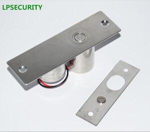 Image 4 - LPSECURITY 800kg משקל שער דלת בקרת גישה מערכת חשמלי מגנטי זכוכית דלת מנעול זרוק bolt בריח