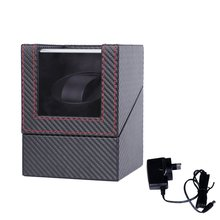 EU/US/UK/AU Motor Shaker Watch Winder Holder Display Automatic Mechanical Winding Box Jewelry Watches