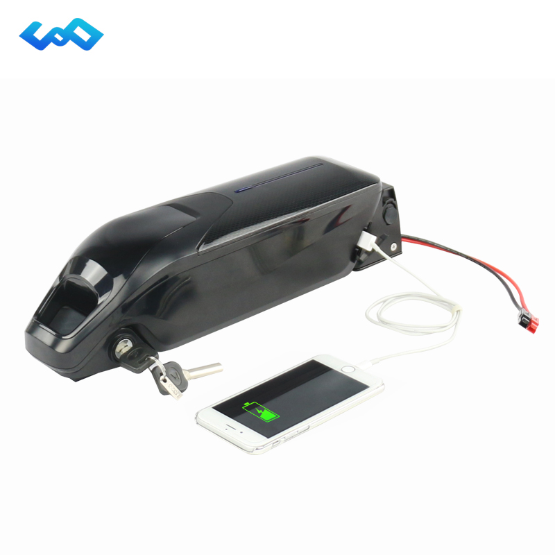Free Tax New Dolphin Case E-Bike Battery 52V 14Ah Lithium Battery for Bafang BBSHD 48V 1000W Electric Bike+Charger free customs taxes electric bike 36v 40ah lithium ion battery pack for 36v 8fun bafang 750w 1000w moto for panasonic cell