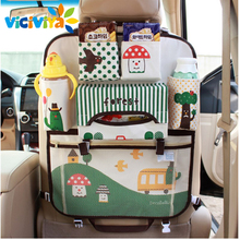 Portable Waterproof Backseat Multi-Pocket Baby Supplies Organizer