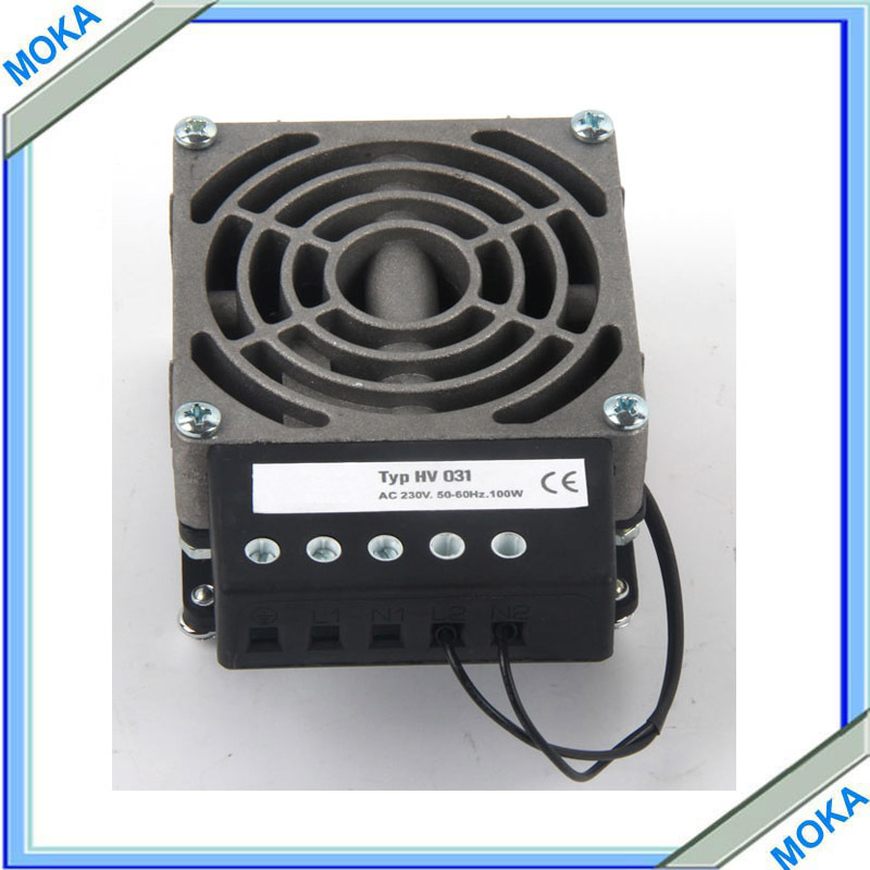 CE Approved 200W Industrial Heater with Fan with Die-cast Aluminium Heater Body For Industrial Cabinet Used