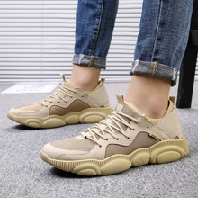 цена Man Casual Shoes Spring Autumn Mens Leather Shoes Fashion Male Footwear Comfortable Walking Shoes For Men