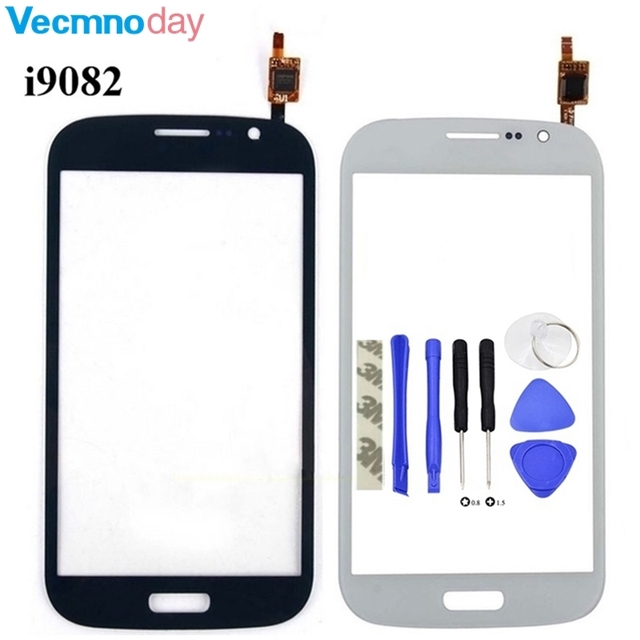 Vecmnoday Touch Panel For Samsung Galaxy Grand Duos i9082 GT-I9082 i9080 GT-I9080 Touch Screen Digitizer Front Glass Lens