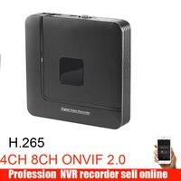 H.265 Max 4K Output CCTV NVR 16CH 5MP / 8CH 4MP /4CH 5MP Security Video Recorder H.265 Motion Detect ONVIF P2P CCTV NVR