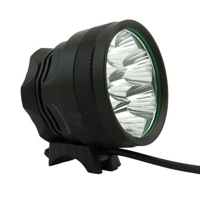LED super bright bicycle headlights 6 set mountain 7T6 lights