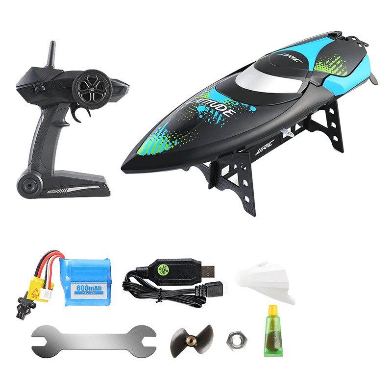 Bateau télécommandé 2.4 GHz Mini bateau Portable hors-bord bateau jouets pour enfants YH-17