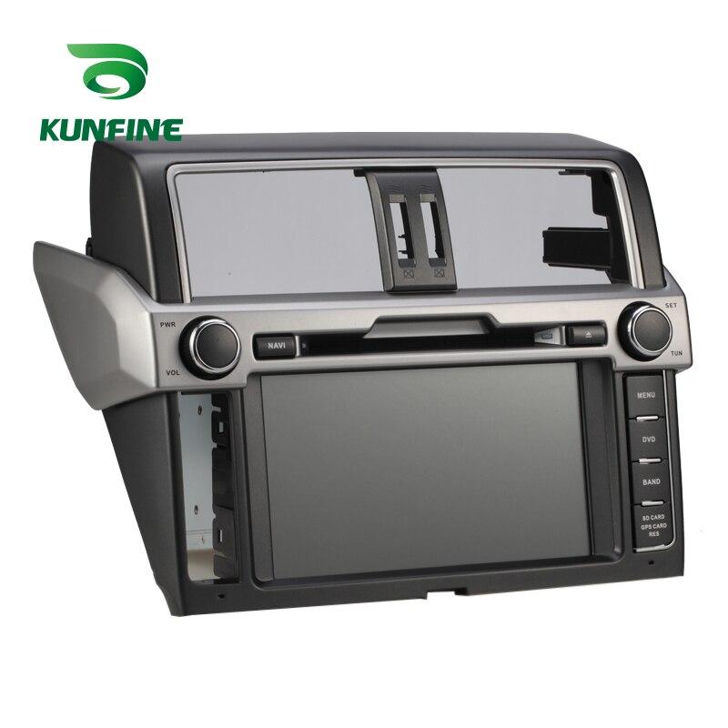 KUNFINE Android 7.1 Quad Core 2GB Car DVD GPS Navigation Player Car Stereo for Toyota New Prado 2014 Radio headunit Bluetooth