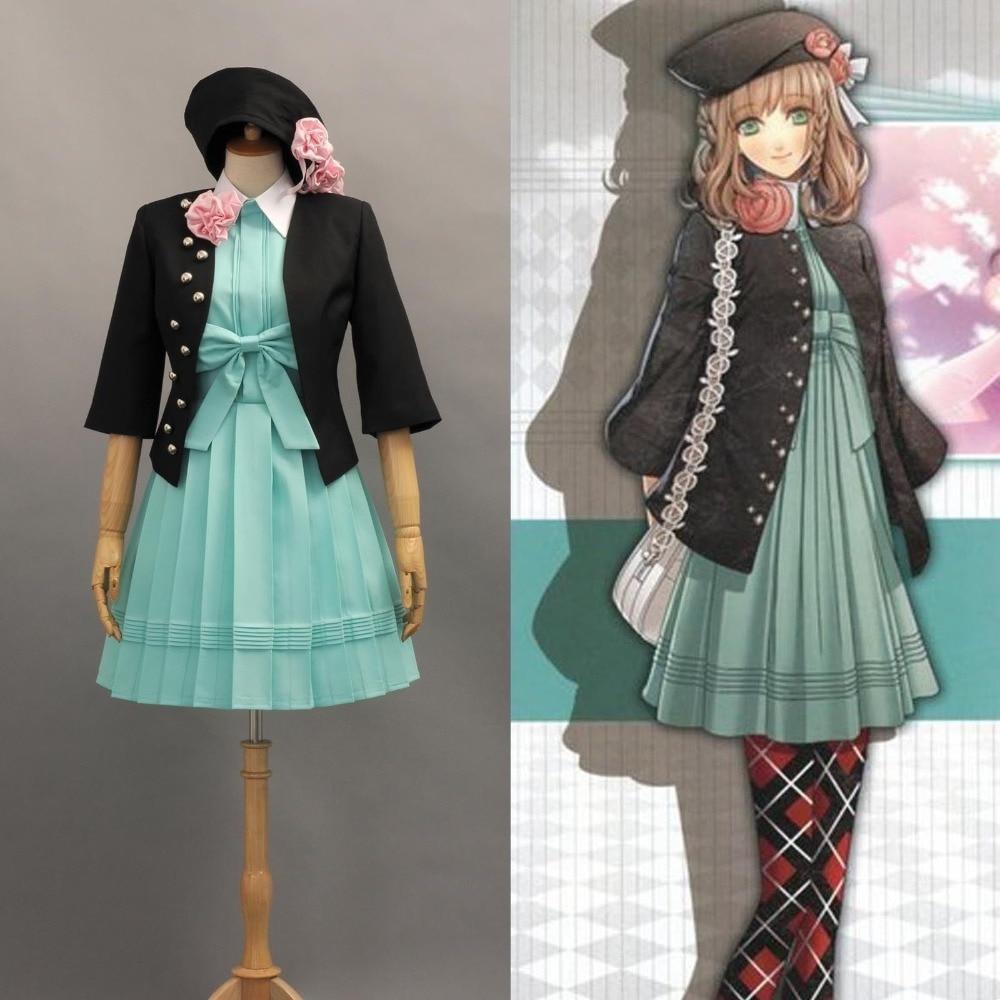 Anime Amnesia Heroine Uniform Cosplay Costume Dress Halloween Cosplay Costumes Full Clothing Set