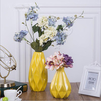 Modern creative ceramic vase simulation flower arrangementnew Year decorationLiving room table dried flower ornaments decoration