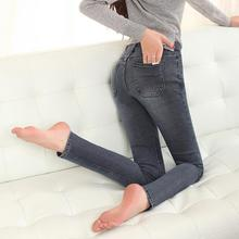 Новая весна джинсы тонкий значительно тонкий карандаш брюки ноги брюки фабрики сразу нескольких цвет узкие джинсы женщин