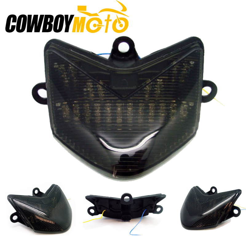 For Kawasaki ZX-10R ZX10R ZX 10R 2004 2005 Tail Light Brake Turn Signals Motorcycle Accessories  Integrated LED Light TailLight