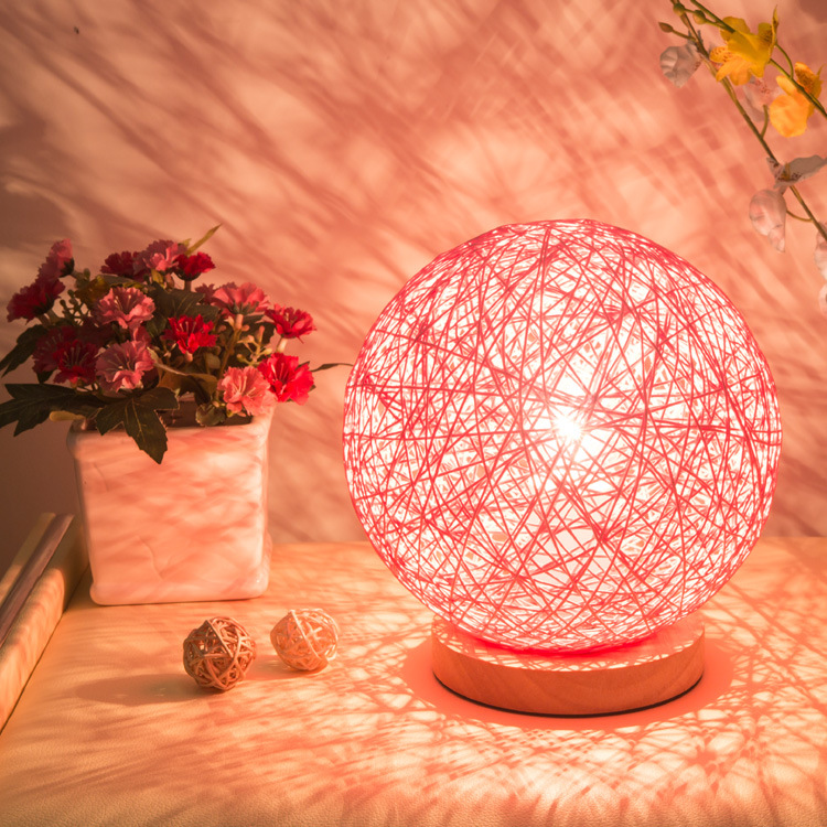 Modern Sepak Takraw Wood Protect Eyesight Desk Lamp For Home Bedroom Living Room Decoration Bedside Lamp north european style retro minimalist modern industrial wood desk lamp bedroom study desk lamp bedside lamp