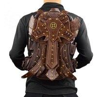 Fashion Gothic Steampunk Skull Retro Rock bag Men Women Punk Waist Bag Shoulder Bag Phone Case Holder women messenger Bag 2018