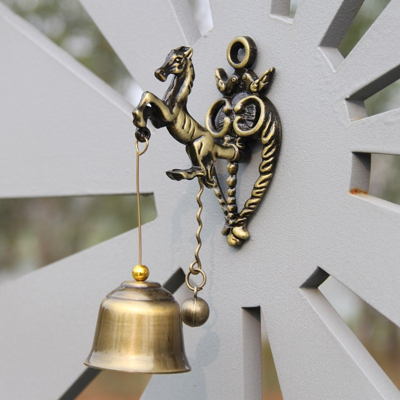 2018 new Animal metal door bell Retro nostalgia shop home wind chimes  metal wall decoration for childrens gifts2018 new Animal metal door bell Retro nostalgia shop home wind chimes  metal wall decoration for childrens gifts