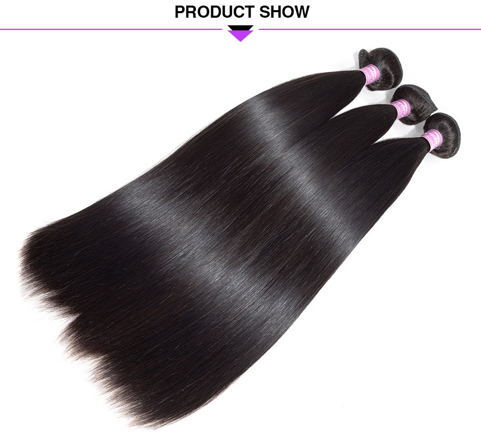 straight virgin hair bundle deals human hair weaving