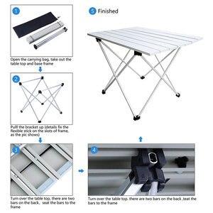 Image 5 - Przenośny stół składany składany Camping piesze wycieczki na zewnątrz