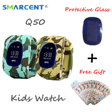 SMARCENT Original Q50 G36 GPS Kids Safe Smart Watch SOS Call Locator Tracker Anti Lost Smartwatch for Baby Children PK Q100 Q90
