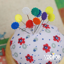 Patchwork needle flower pins locating pin handmade auxiliary tools