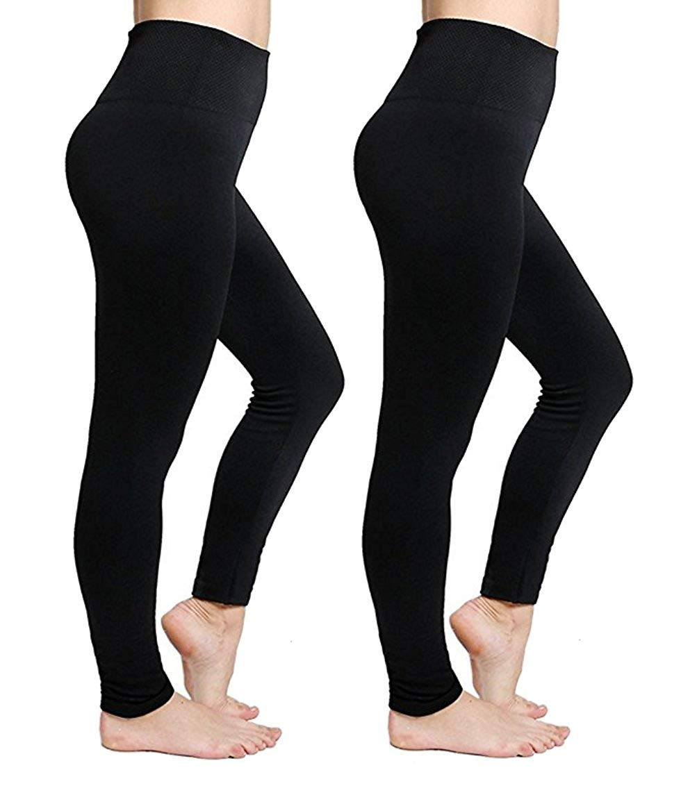 10 pieces Womens Lined Leggings High Buttery Ankle Length Pants Skinny Button Fly Animal Skinny Button