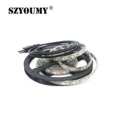 SZYOUMY 100 Meters Waterproof 3528 SMD USB font b LED b font font b Strip b