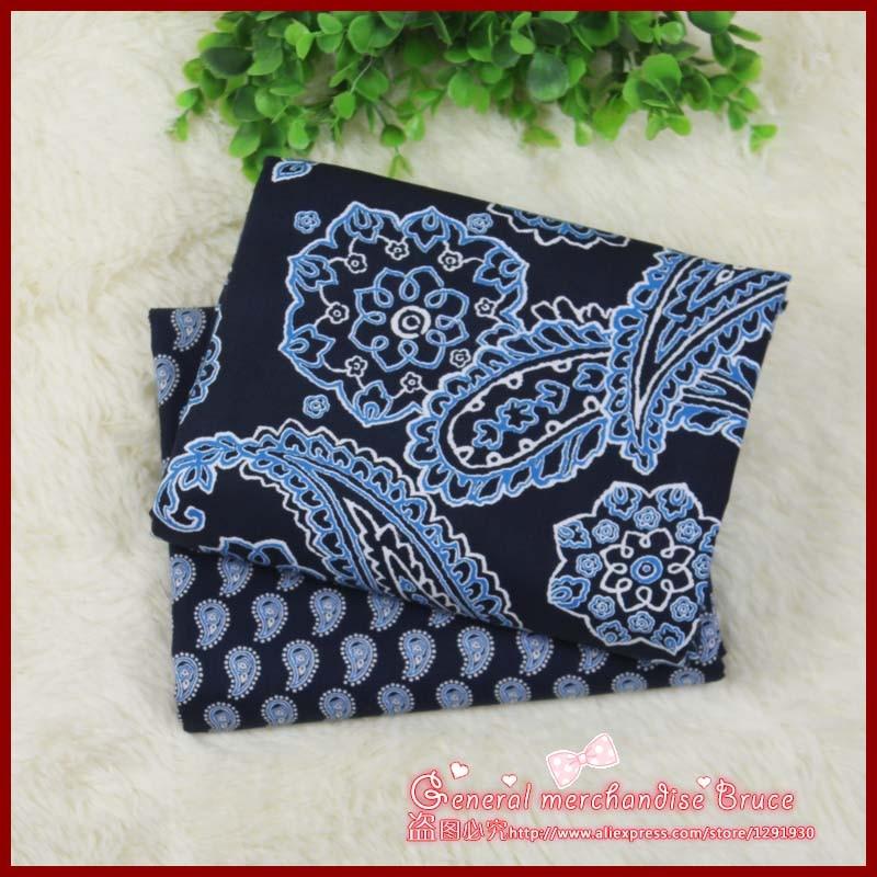 2pcs 150 50cm Navy series Retro patchwork baby cloth font b tartan b font ethnic fabric