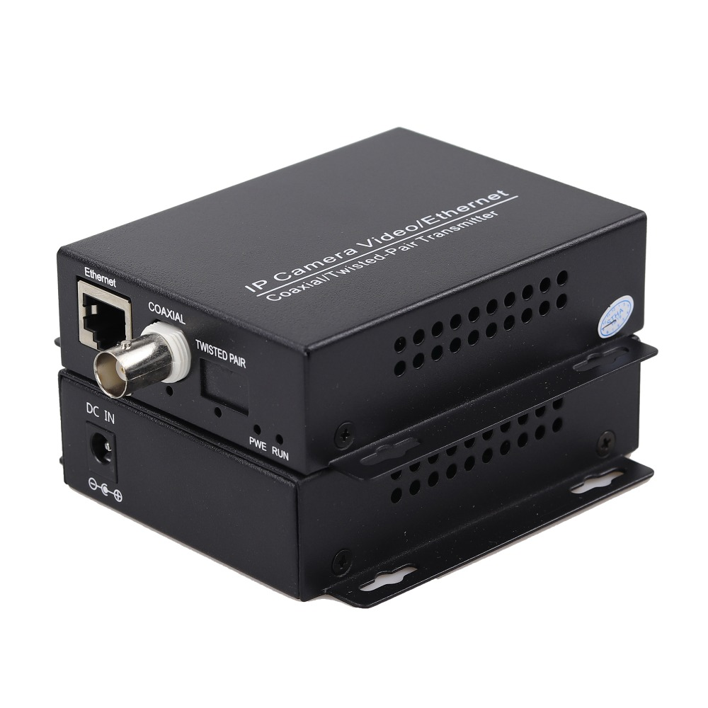 Image 5 - 2km Ethernet Extender Over IP Coaxial Network Extender 1080p  Video Converter Transmitter Receiver Support HIKVISION Dahua-in Transmission & Cables from Security & Protection