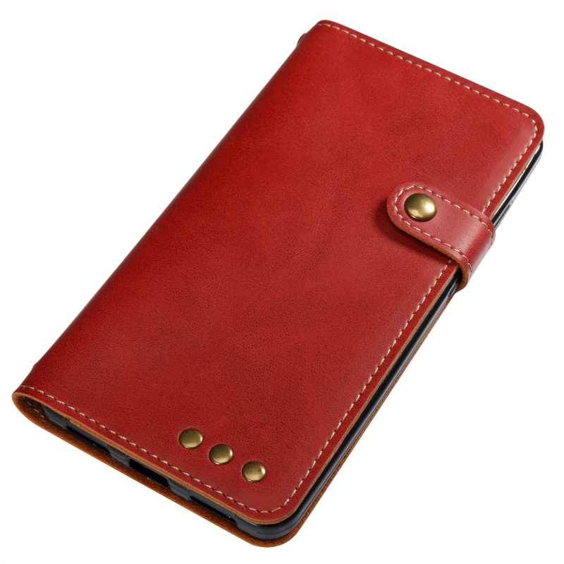 For Xiaomi Redmi Note 4X leather Cover Luxury Crazy Horse Retro Leather Flip Wallet Pu Capa Cover hongmi note 4x Note 4 Case