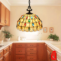 Tiffany Lustres E Pendentes Lampshade Pendant Lamp Hand Made For Club Porch Bar Lustres Pendentes Lampshade