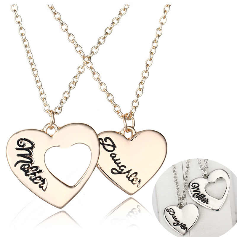 Hengyi Romantic Heart Shape Vintage Choker Necklace Women Metal Alloy Material Lover Valentine's Day Statement Necklace