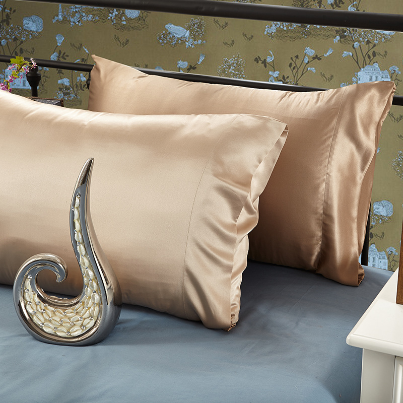 100% Mulberry Silk 22Mm Silk Pillowcase pillows for sleeping Suitable for Standard Pillows Envelop Design No Zipper