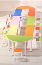 Бесплатная доставка студенческие столы и стулья. Обучение стол. Стул. Один и двойной