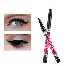 Hot Sale Eye Liner Water Proof Black Eyeliner Liquid Pen Smooth Anti Blooming Fast Dry wapsi super fine water proof dry fly dubbing 2