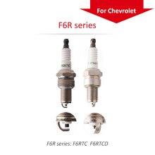 4pcs/lot China original TORCH Nickel alloy spark plugF6RTC for CHEVROLET  aveo/lanos/niva2123/spark/daewoo matiz/nexia
