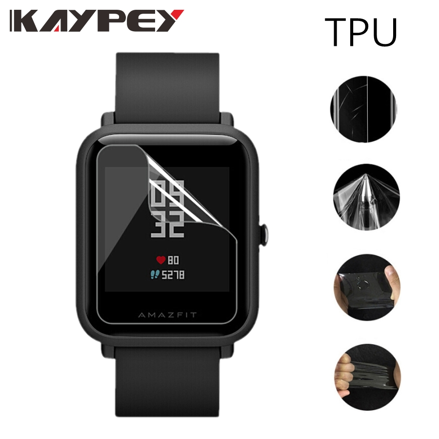 5pcs For Amazfit Bit Ultra Thin Antiexplosion TPU Screen Protector Film For Xiaomi Huami Amazfit Bip PACE Lite Youth Smart Watch5pcs For Amazfit Bit Ultra Thin Antiexplosion TPU Screen Protector Film For Xiaomi Huami Amazfit Bip PACE Lite Youth Smart Watch