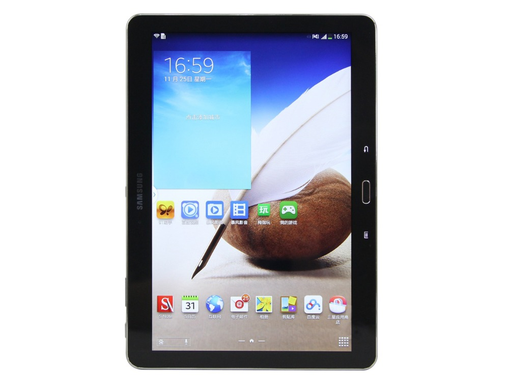 Samsung Galaxy Tab Note 10.1 pouce P601 3g + WIFI Tablet PC 3 gb RAM 16 gb ROM Qcta -core 8220 mah 8MP Caméra Android Tablet