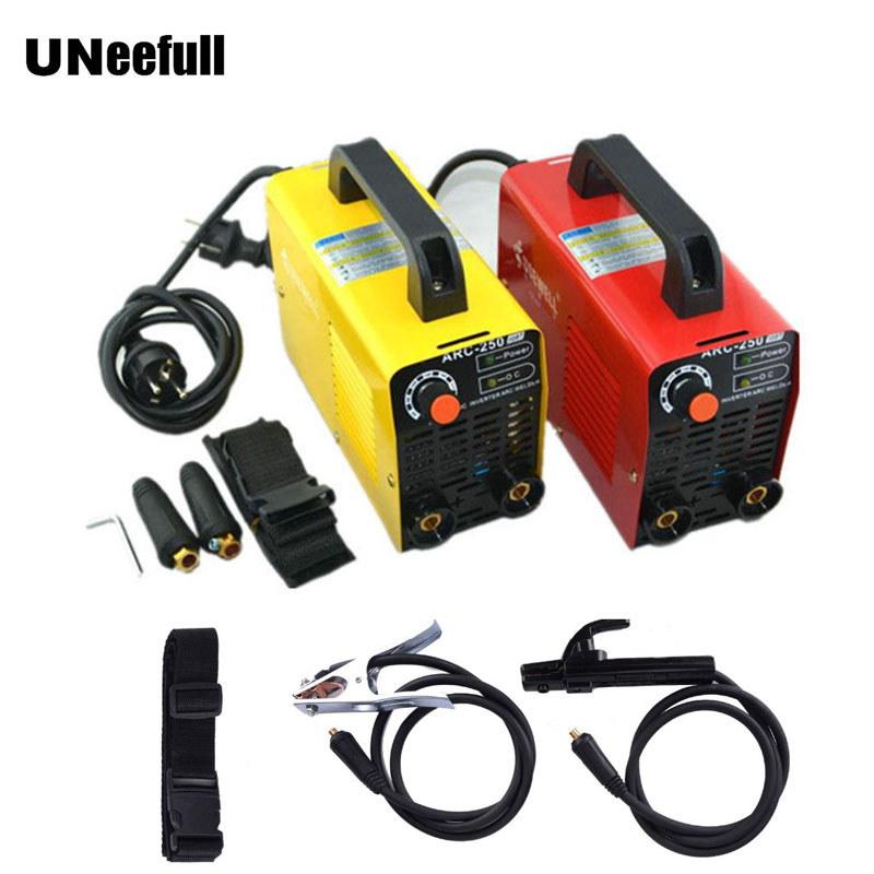 UNeefull ARC-250 Double voltage Inverter DC Portable Welder Welding Machine, Mini Welder Electric Welder.