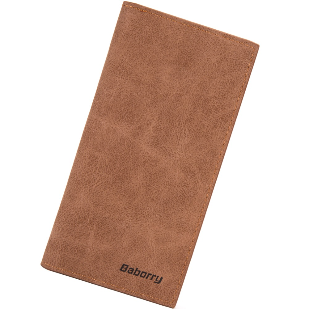 2018 Card Holder Leather Wallet Men Long Design High Quality Passport Cover Casual Men's Purse Vintage Multi-function Coin Purse цена 2017