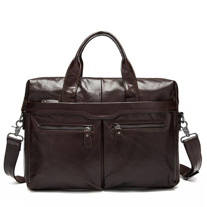 Us 56 51 24 Off Ograff Leather Genuine Men S Bag Male Handbag Designer Messenger Briefcase Shoulder In Crossbody Bags From