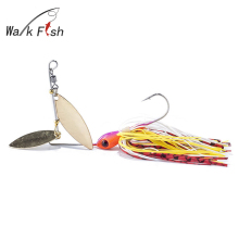 WALK FISH 1Pcs fishing Lure Spoon Spinner Buzzi Bait bait Fresh Water Shallow Water Bass Minnow Spinnerbait Lures